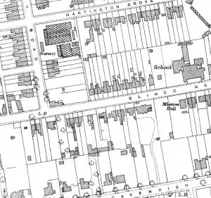 Morley School area 1927