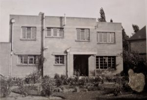 22 Sedley Taylor Road (rear) circa 1948