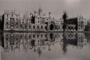 St John's College in 1947 floods