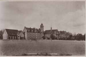 Homerton College Cambridge circa 1925?