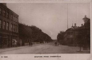 Station Road Cambridge circa 1916