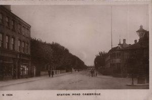 Station Road Cambridge circa 1916